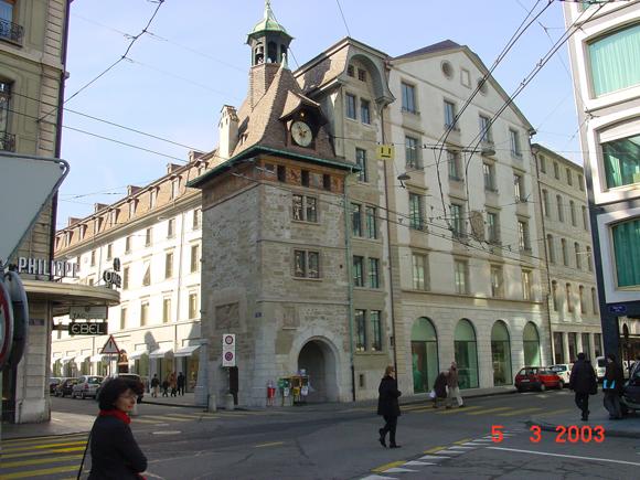2003 183 Place Du Molard Architecte 224 Gen 232 Ve